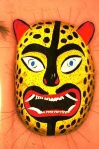 Máscara: Artista plástico: Félix Alejandro Galeana